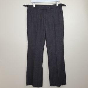 Wool Blend Trousers J. Crew Grey Dress Slacks 10